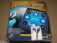 SONY PLAYSTATION 1 2 PS2 PS1 DANCE MAT CONTROLLER DANCING GAME CONTROL - Boxed