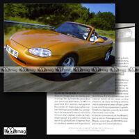 #CVP.074 MAZDA MX-5 MX5 1989 Fiche Auto