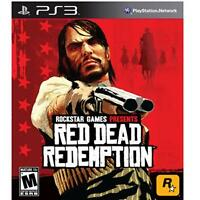 Red Dead Redemption (Sony PlayStation 3, 2010) DISC IS MINT