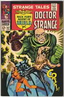 Strange Tales Comic Book #157, Marvel 1967 FINE+