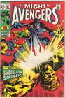 The Avengers Comic Book #65, Marvel Comics 1969 FINE+