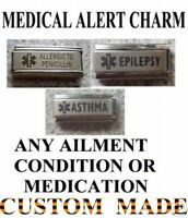 Italian Charms Superlink Medical Alert  Custom Made