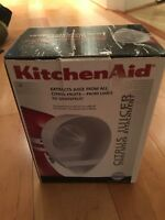 NEW KitchenAid JE Citrus Juicer Stand Mixer Attachment