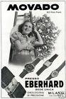 orologio MOVADO-soc.EBERHARD-Losanna-162 premi-1939.