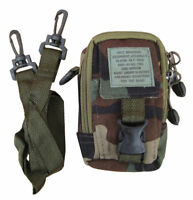 Army Combat Shoulder Travel Zip Bag Camera Phone Pouch