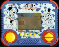 1990s TIGER 101 DALMATIANS DISNEY ELECTRONIC HANDHELD LCD TOY VIDEO GAME DOGS