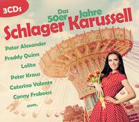 CD Das 50er Jahre Schlager Karussell von Diverse Interpreten 3CDs