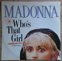 Madonna, who's that girl, maxi vinyl 2 titres import UK