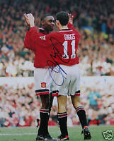 Ryan Giggs Manchester United goal 10 x 8 Signed Photo