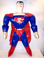 2 GIANT SUPERMAN 24 IN HERO  INFLATABLE BLOW UP TOY