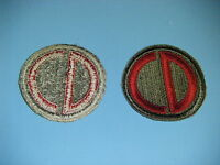 b0169 WW 2 US Army 85nd Infantry Division patch ssi