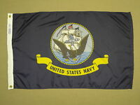 U.S. United States Navy Nylon Flag 2' X 3'