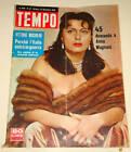 TEMPO - COVER : ANNA MAGNANI