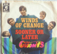 """7"""" 60s RARE BEAT! THE GLOOMYS : Winds Of Change //VG+\"""