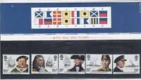 QEII Presentation Pack No 136 Maritime Heritage 1982