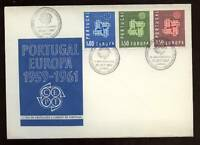 Portugal 1961 Europa CEPT First Day Cover FDC