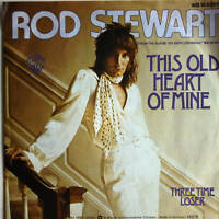 """7"""" 1975 ! ROD STEWART : This Old Heart Of Mine /MINT-?"""