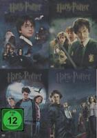 DVD SET HARRY POTTER STEELBOOK SAMMLUNG 1+2+3+4 **NEU**