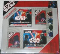 Star Wars Playing Cards & Poker Chips Value Pack RARE