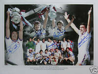 West Ham 1980 FA Cup Brooking Bonds Signed Photo Proof