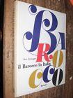 Il Barocco in Italia D. Formaggio Mondadori 1960 MI ^