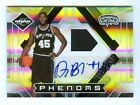 DEJUAN BLAIR 09-10 LEAF LIMITED AUTO JERSEY RC #/299