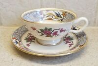 LENOX CHINA MING CUP and SAUCER WITH BLACK MARK