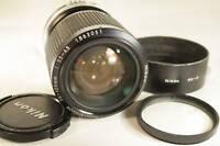 Nikon 35-105mm f3.5 Lens manual focus AI-S AIS with original HK-11 hood caps