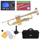 Mendini Bb Trumpet Gold & Rose Brass Monel Valves Piston +Tuner+Case ~MTT-30GB