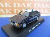 Die cast 1/43 Modellino Auto Carabinieri Alfa Romeo 75 1.8 IE 1988