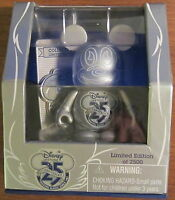 "Disney Store D23 Expo 2011 Vinylmation 3"" and pin 25th Silver Anniversary"