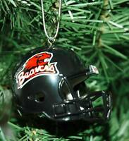 Oregon State University Football Helmet Christmas Ornament
