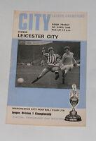 Manchester City -v- Leicester City  1968-1969