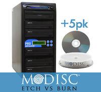 ProDuplicator 5 Burner M-Disc Support CD DVD Duplicator Optical Copier+5pk Mdisc