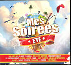 MES SOIREES - ETE - DIGIPACK COMPIL 3 CD - NEUF ET SOUS CELLO