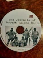 South Pole Journals of Robert Falcon Scott Vol 1- audio book Mp3 CD
