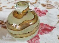 """MDINA ART GLASS VINTAGE COLOGNE BOTTLE SIGNED 4"""""""
