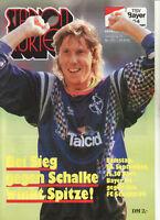 BL 92/93 Bayer 04 Leverkusen - FC Schalke 04