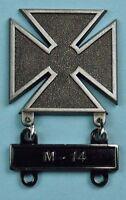 Army Marksman Marksmanship Badge New M-14 Qualification Attachment Bar