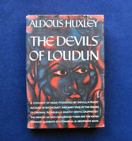 THE DEVILS OF LOUDUN by ALDOUS HUXLEY - FIRST AMERICAN EDITION