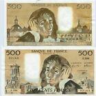Gertbrolen 500 FRANCS PASCAL du 6-8-1992 S. 396 Billet Numéro 989203165
