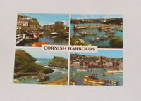 Cornwall - Cornish Harbours - Multi-Picture Postcard 1983