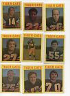 1972 O Pee Chee Canadian Football Cards: 100/132 Cards-76% 0f the Set-!