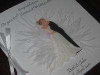 Personalised Handmade 15th Crystal Wedding Anniversary Card