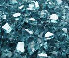 Arctic Blue Reflective Fireglass Firepit glass rocks Fireplace Glass Gas logs