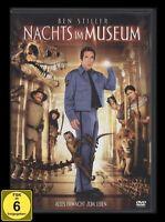 DVD NACHTS IM MUSEUM - alte FSK - BEN STILLER + ROBIN WILLIAMS *** NEU ***