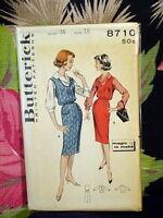 60s Butterick Jumper/Dress & Blouse Pattern 8710 16/36 bust