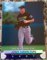 JOSH HAMILTON 2001 Topps Stadium Club 2000 Future Star Rookie RC Rangers HOT