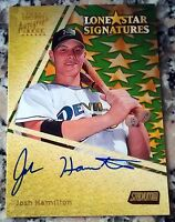 JOSH HAMILTON 2000 Topps Stadium Club Certified Auto Rookie Card RC Rangers HOT