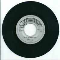 "BARRY BLUE - MISS HIT AND RUN - 7"" VINYL 1974 BELL"